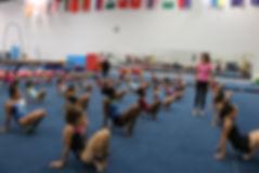 World Elite Gymnastics Rhythmic Camp Ali