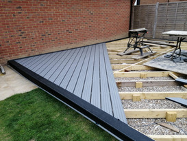 Decking Timber Sub-frame