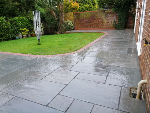 Kandla Grey Natural Stone Patio