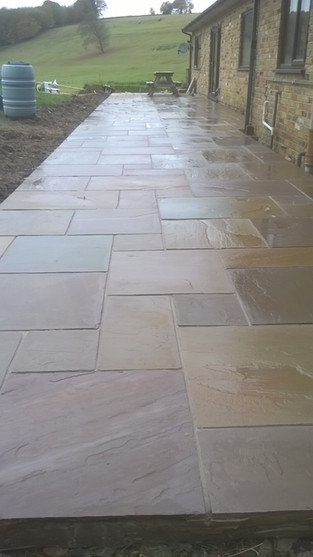 Camel Natural Stone Paving