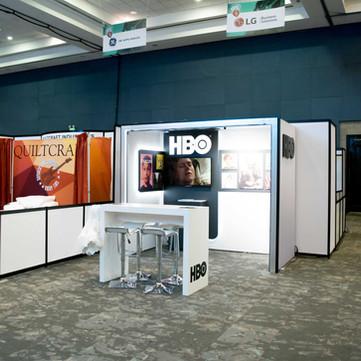 Exhibición stand HBO