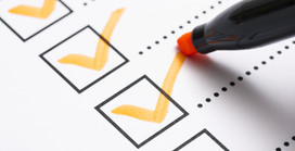 Make a checklist and meet all the requirements of your event without forgetting any details