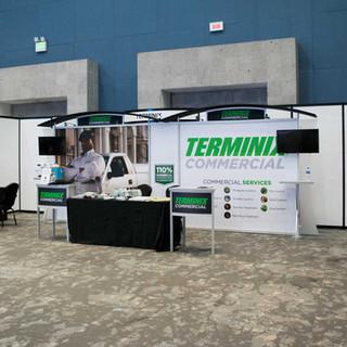 Exhibición stand Terminex