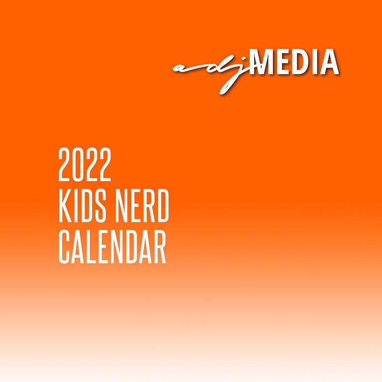 Calendar 2022- Kids Nerd