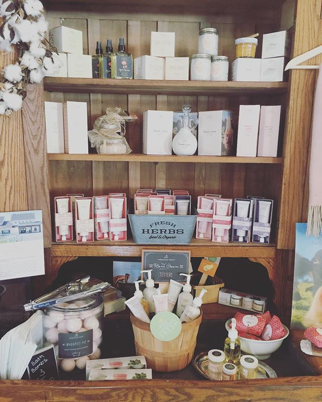 Have you ever tried Farmhouse Fresh_ If you haven't - we've got a nice variety of products! And hey,