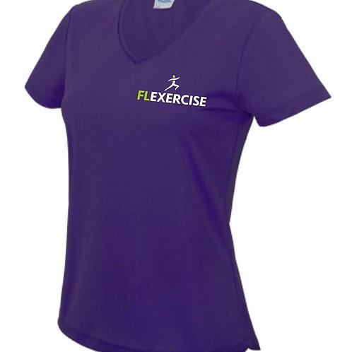 FLexercise V-Neck Tshirt JC006