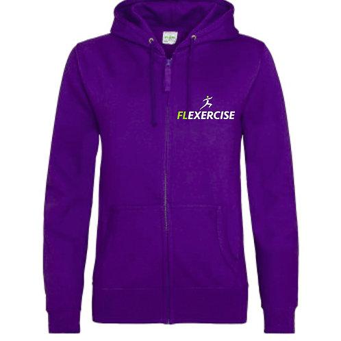 FLexercise Girlie Zip Hoodie JH055
