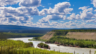 The road to the Yukon