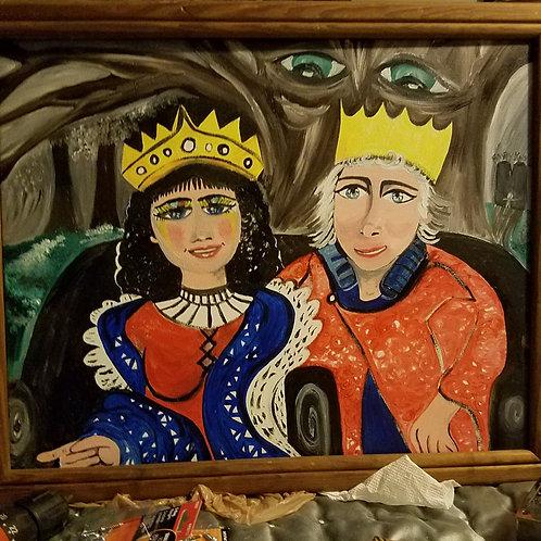 Queen Lilliana and King Khalen
