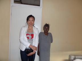 Visit HIV Aids patient at Ekukhuseleni T