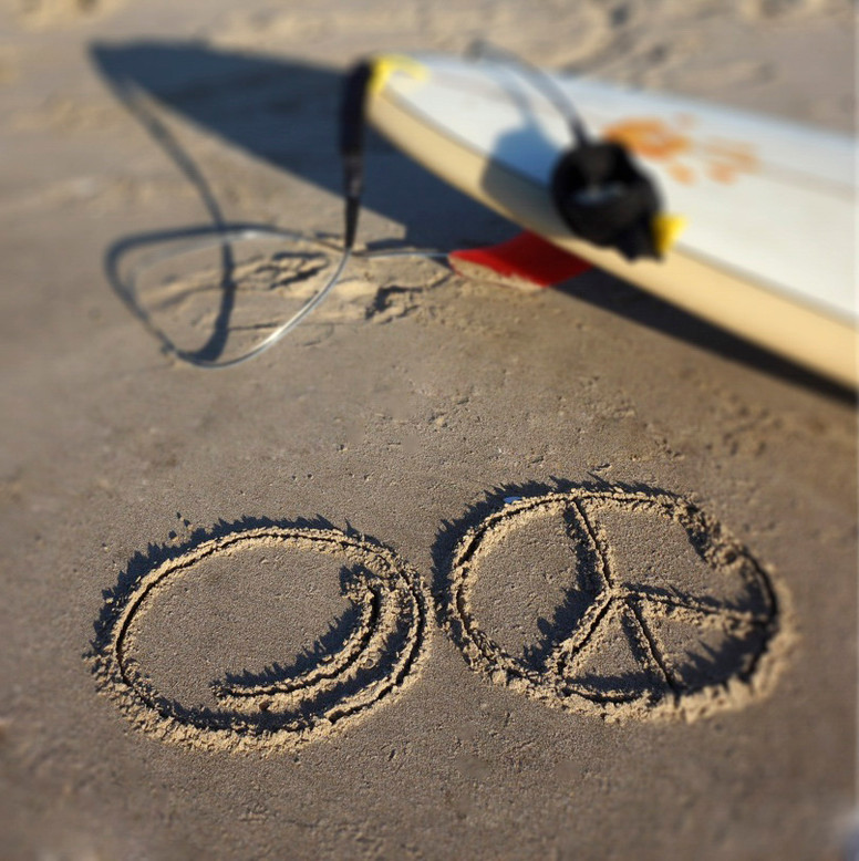 smileandpeace at the beach