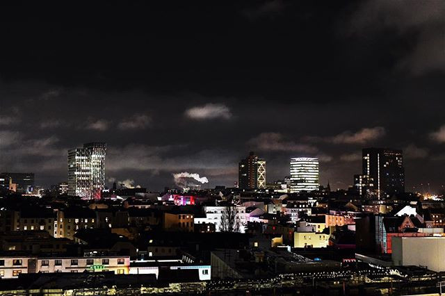 Nachtfoto von sankt Pauli smileandpeace