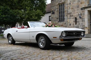 Hochzeitsauto buchbar
