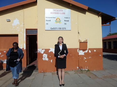 Thulaganyo Secondary School at Wintervel