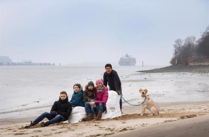 Familien Foto Session zum Muttertag