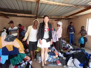 Clothes donation for Winterveldt Communi