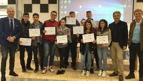 """Gli studenti del """"Nervi"""" a scuola di giornalismo con l'UNCI Sicilia."""