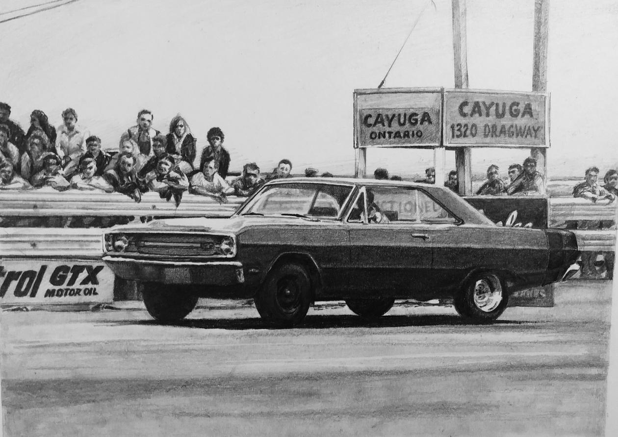 Mopar at the Dragway