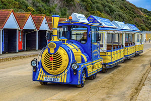 LAND TRAIN DRIVER - BIBBY'S BEACH BAR - SKEGNESS