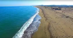 Immense plage Sainte-Marie-la-Mer