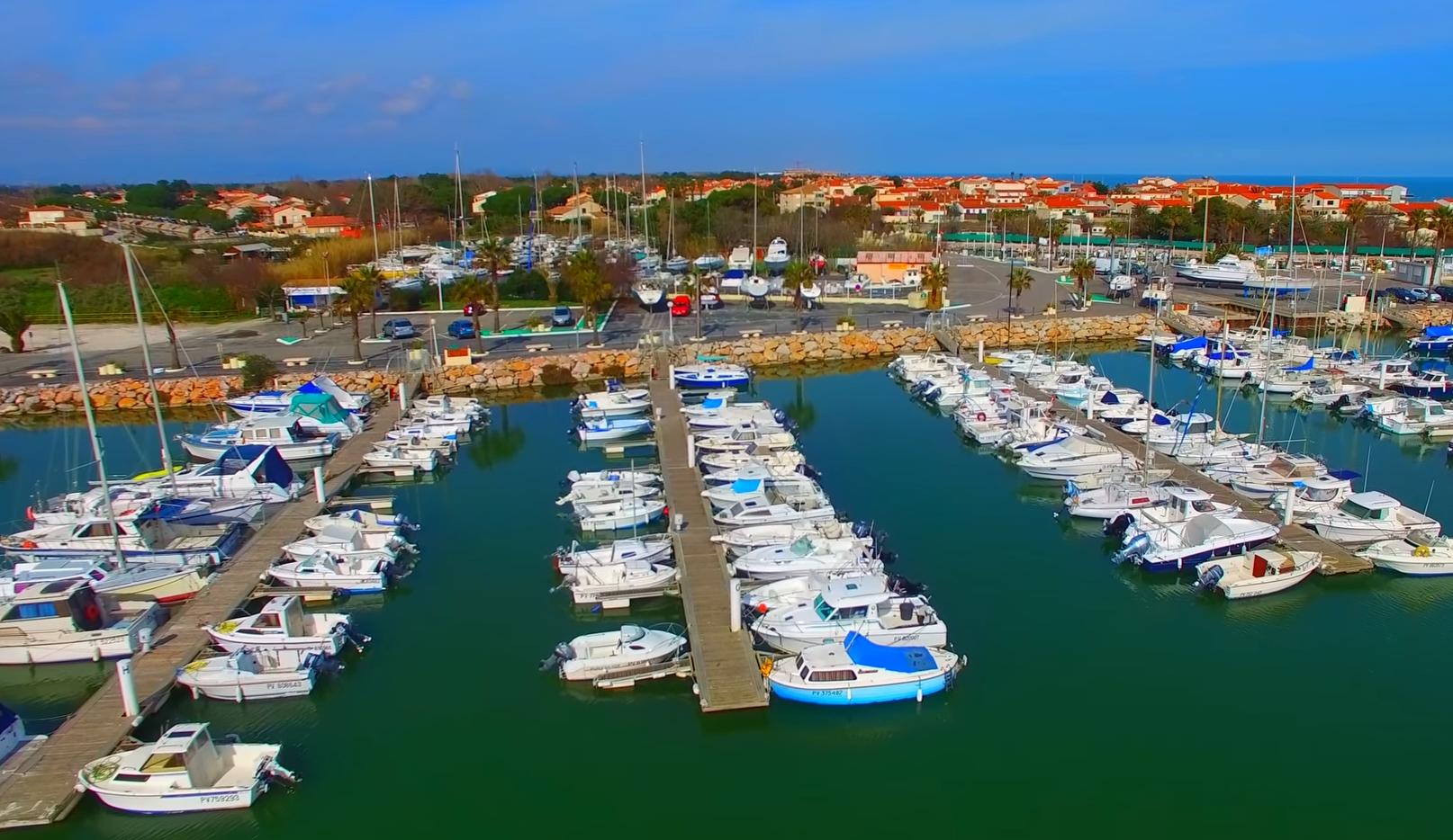 Sainte Marie la Mer - Le Port