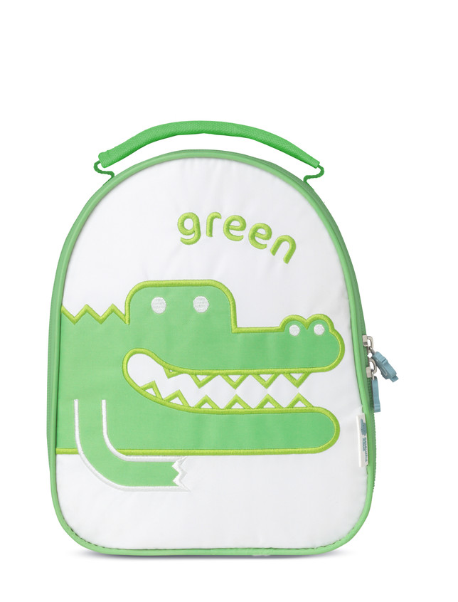 Green Croc lunch bag by colourful dove