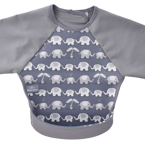 Bibetta UltraBib with Sleeves - Elephants