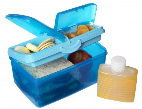 Perfect lunch box for keeping everything in it's place.