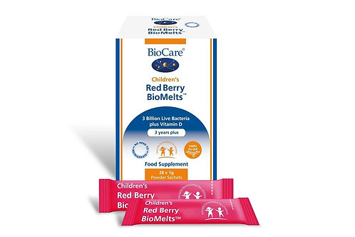 Biocare Children's Red Berry BioMelts 28's