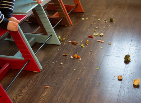 The Magic of Mess at Mealtimes