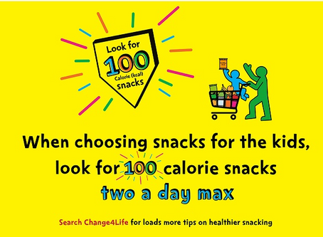 Calorie counting kids? No thanks Change4Life!