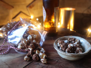 Chocolate Espresso Honeycomb Popcorn