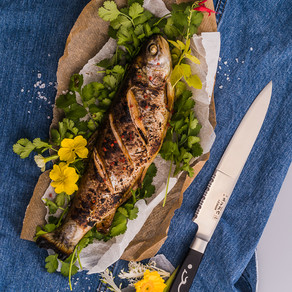 Asian Grilled Whole Trout