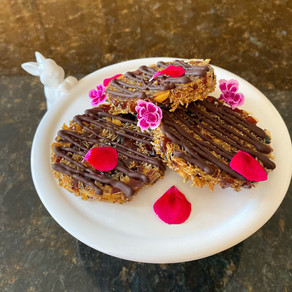 Healthy Vegan Florentines: No refined Sugar!