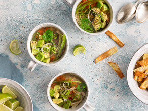 Mexican Inspired Chicken & Lime Soup