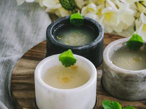 Miso Soup, Sesame Oil, Japanese Parsley
