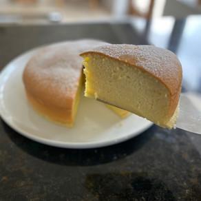 Lemon Japanese Fluffy Cheesecake