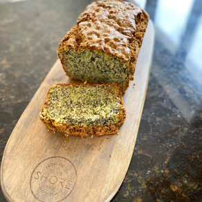 Courgette, Lemon & Poppy Seed Olive Oil Loaf