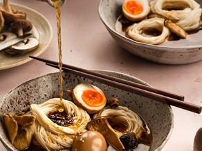 Chicken, Mushroom & Sea Buckthorn Noodles