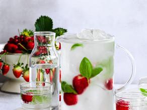 Strawberry & Herb Water