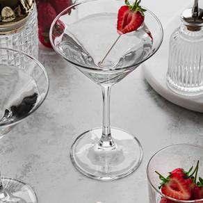 Strawberry Top Vodka Martini