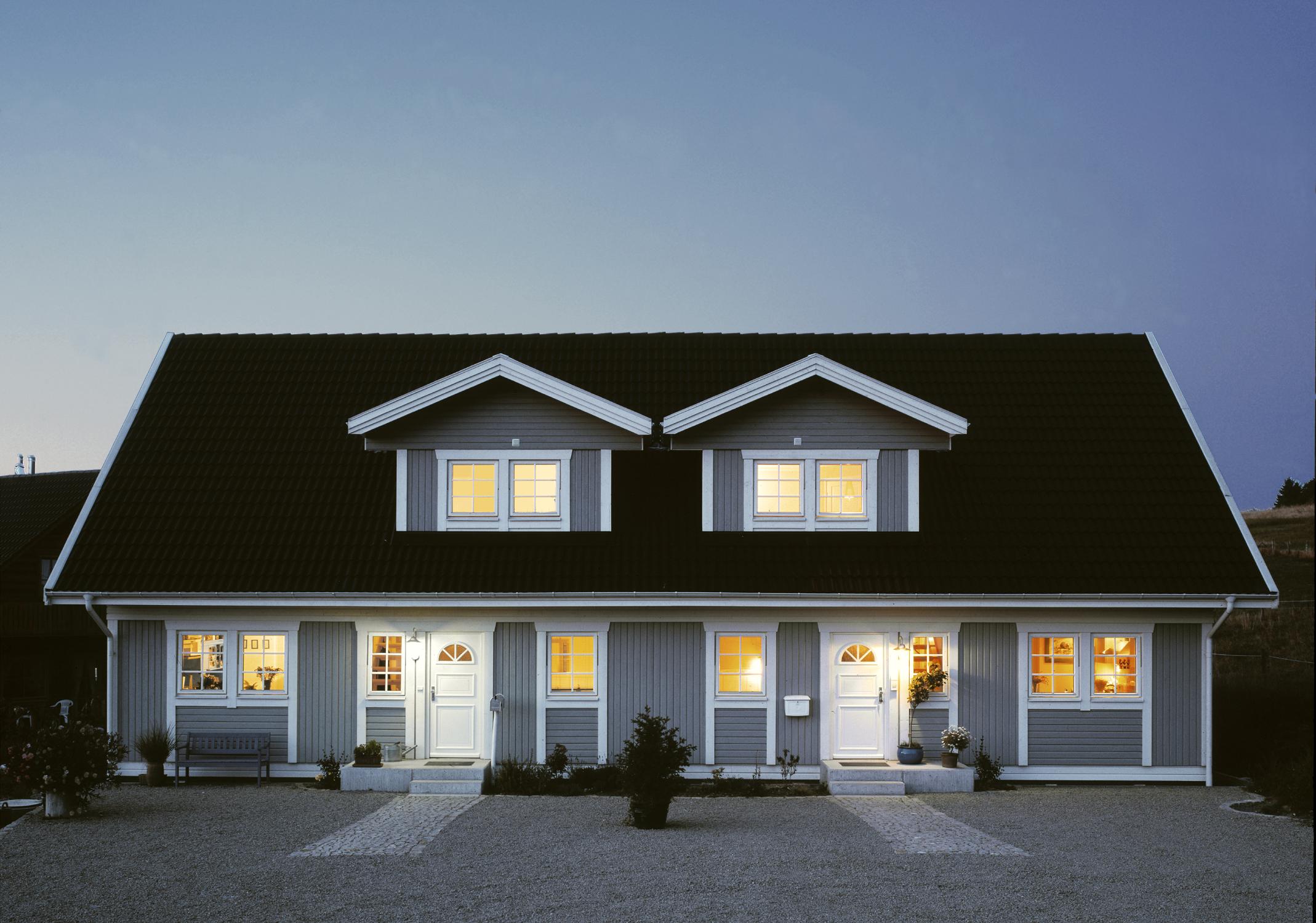 Schwedisches Holzhaus