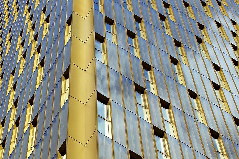 Aluminium/Glas-Fassade