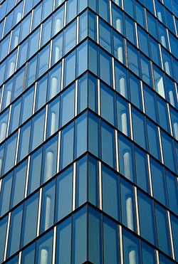Glassfassade