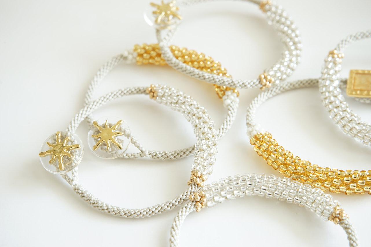 petitknot kumihimo bracelets