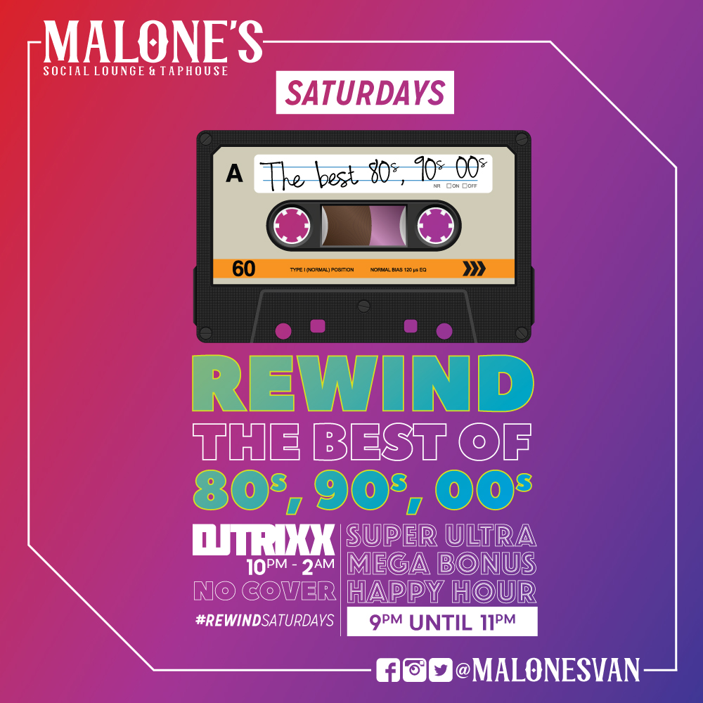 #REWINDSATURDAYS