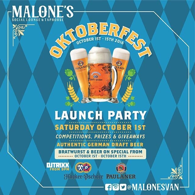 Oktoberfest 2016 Launch Party
