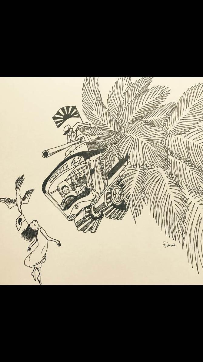 2017.10.7(sat)熊川ふみ シンガポール素描