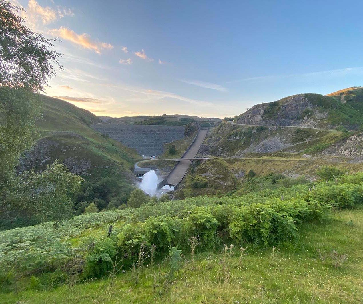 Llyn Brianne reservoir