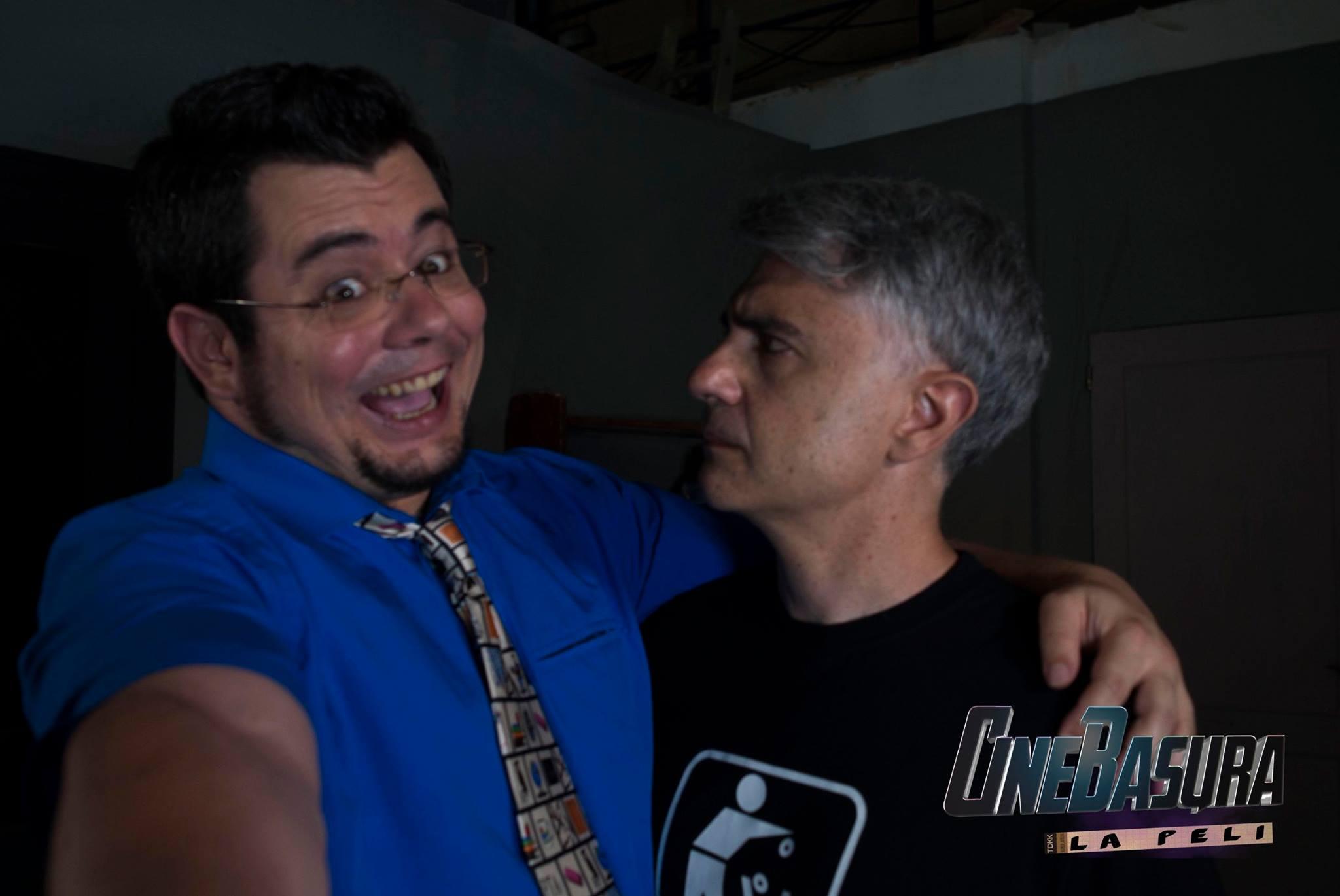 Aijón y Paco en Cine Basura
